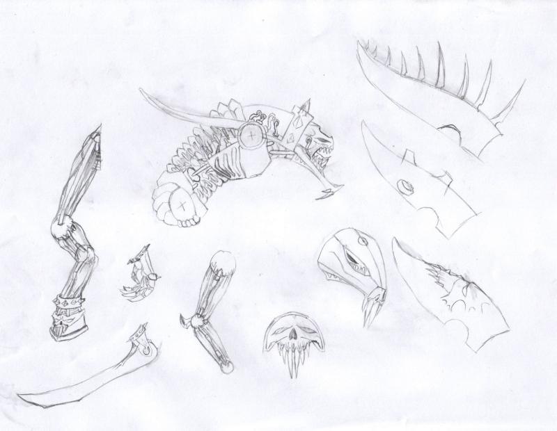 mes croquis diver zé variés Image-1491145
