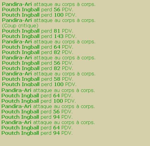 Pandira-Ari pandalette Eau/feu chasseuse lvl 107 Mineur-sombre-arc-159a919