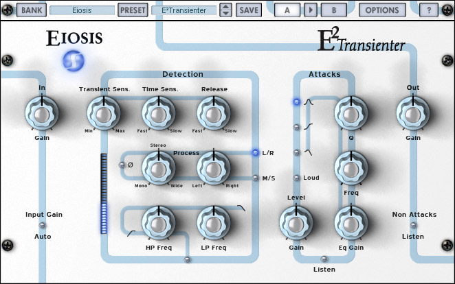 Eiosis E2transienter VST 1.0.5, vst plugins eiosis, VST, Eiosis, E2transienter