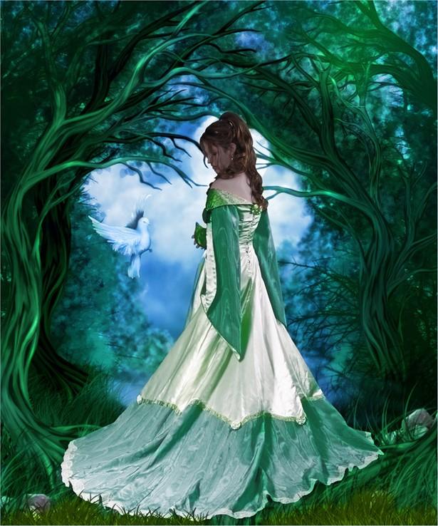 belle-image-femme-foret-flora