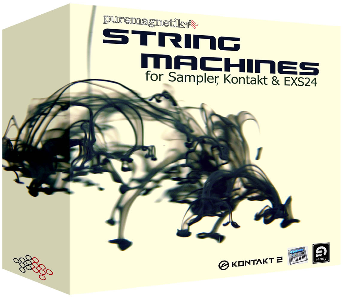Puremagnetik String Machines MULTiFORMAT, puremagnetik samples audio, String Machines, String, Puremagnetik, MULTiFORMAT, Machines
