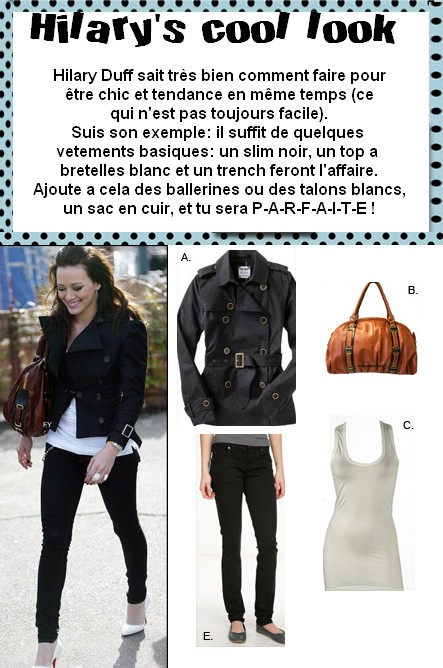 ☆Dress Like Hilary Duff ☆ dans stars hilary-s-cool-look-1223200